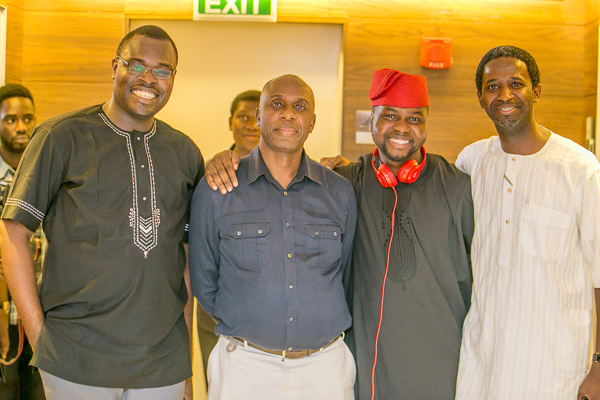 Chude Jideonwo Governor Amaechi Adebola Williams and Kola Oyeneyin