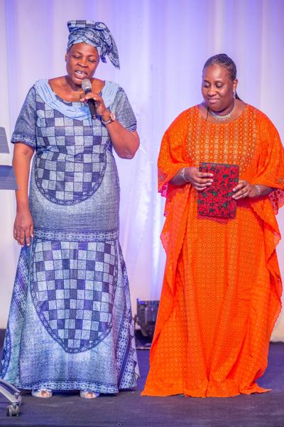 Mrs Ngozi Jideonwo honors Aunty Aisha