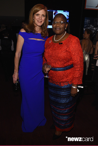 Samantha Power  and Obiageli Ezekwesili (photo credit Larry Busacca  Getty Images )