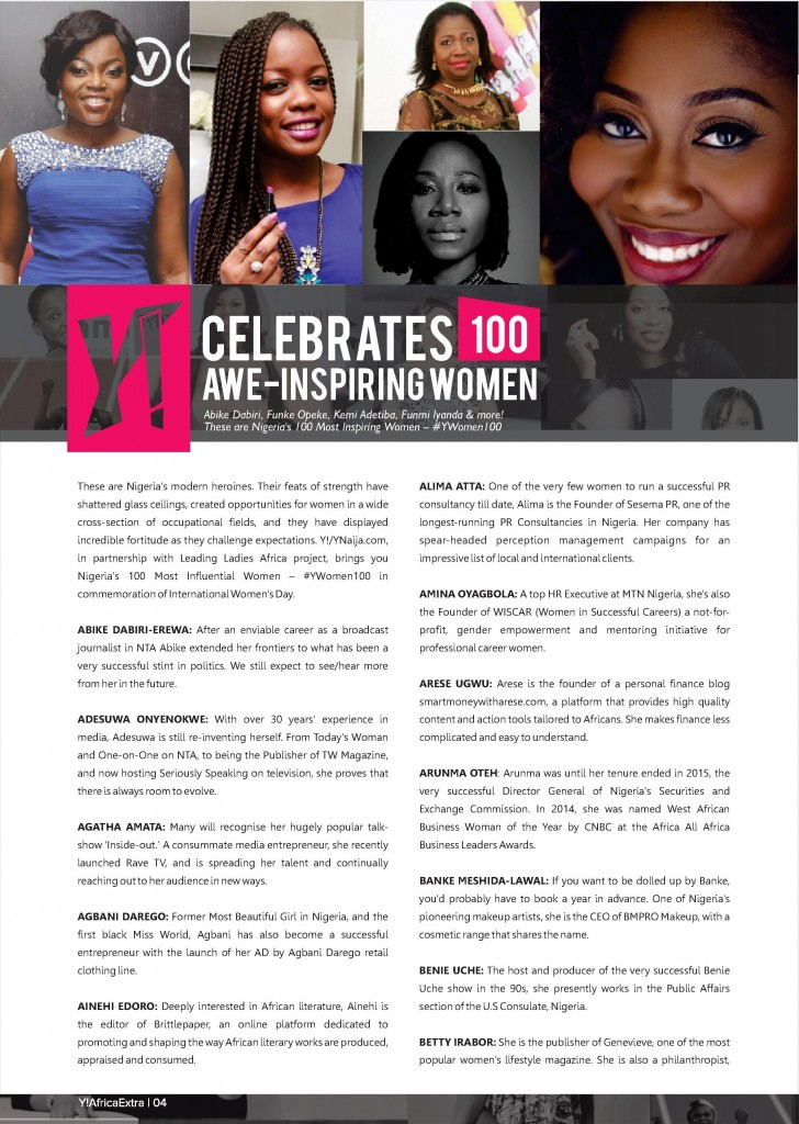 Y! Africa Xtra for Young Women