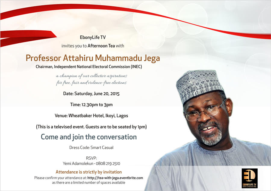 Afternoon tea with Jega (1)