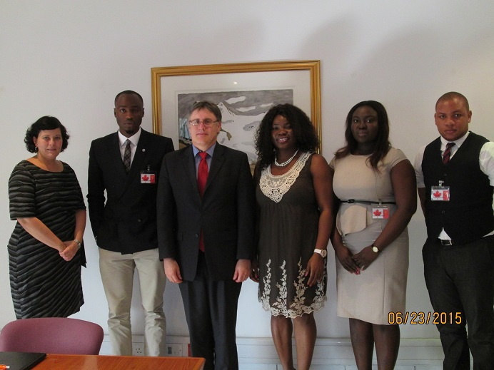 Courtesy Visit to the Canadian Embassy