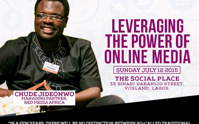 Our Managing Partner, Chude Jideonwo to speak at the 'Power Talk Series' hosted by Leading Ladies Africa