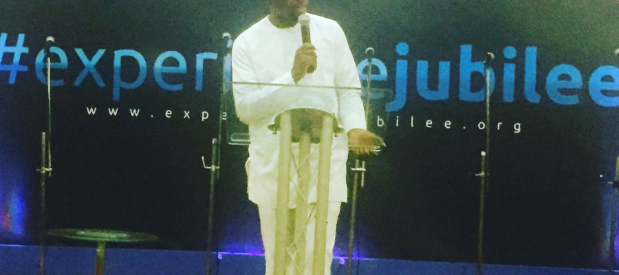 Our Founding Partner, Adebola Williams speaks at Jubliee Christian Centre