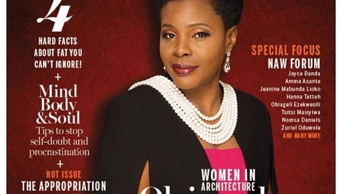 Olajumoke Adenowo bags New African Woman in Business award, covers April/May edition of the magazine