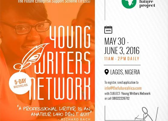 The Future Enterprise Support Scheme presents Young Writers' Network… Calls for registration
