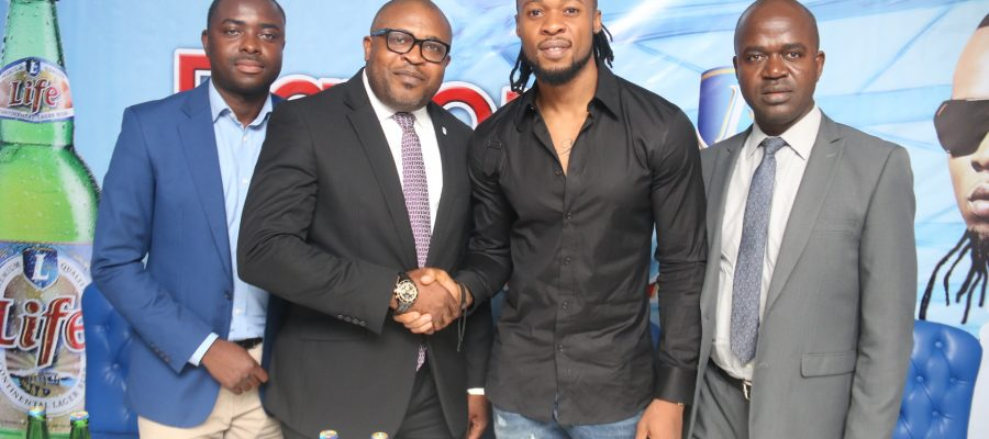 Award-winning artiste, Flavour N'abania announced as brand ambassador for Life Continental Lager Beer